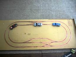 routed digital slot car track test three cars routed digital slot car track test three cars