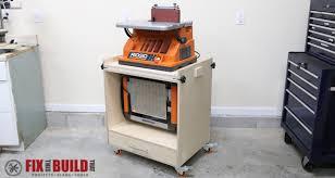 dewalt planer stand. diy flip top tool stand plans dewalt planer