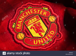 Manchester united football club is a professional football club based in old trafford, greater manchester, england, that competes in the premier league, the top flight of english football. Manchester United Logo Stockfotografie Alamy