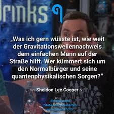 Die Besten Zitate Von Sheldon Cooper Bluemindtv