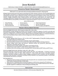 Project Management Resume Objectives Project Manager Resume Tell The Company Or Organization About Your 20