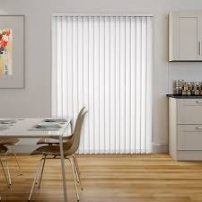 white wooden vertical blinds. Fine Wooden Sevilla Tranquility White Vertical Blind On Wooden Blinds U