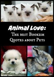Love Animals Quotes Gorgeous Book Quotes About Animals