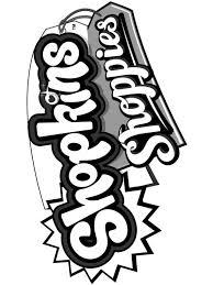 Kleurplaten En Zo Kleurplaat Van Shopkins Shoppies Logo