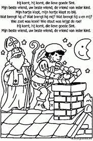 Hartje Kleurplaat Met Sinterklaas Erin Norskiinfo