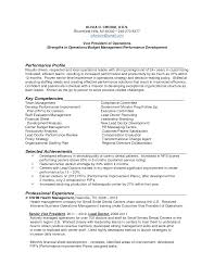 Performance Profile Resumes Performance Profile Resumes Rome Fontanacountryinn Com