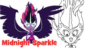 Small Picture How to draw Midnight Sparkle Friendship Games My Little Pony