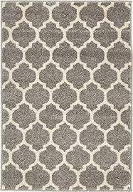 unique loom trellis collection dark gray 2 x 3 area rug 2 2