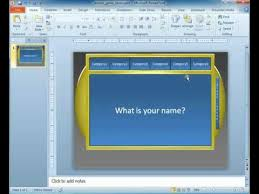 Powerpoint Game Show Template Game Show Powerpoint Template Youtube