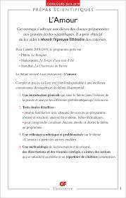 Lamour Concours 2018 2019 Des Prépas Scientifiques