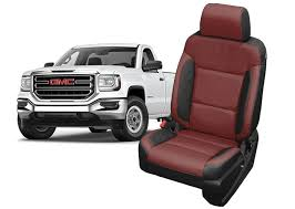 gmc sierra leather seats replacement