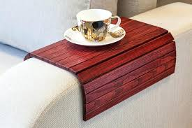 couch armrest flexible wooden sofa armrest tray table couch armrest covers