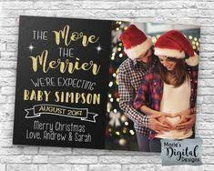 55 Best Christmas Baby Announcement Images Christmas Baby