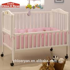 popular 130cm baby wooden convertible crib assembled baby crib with collapsible bed rail