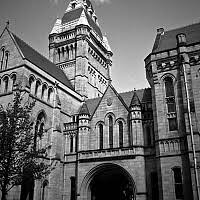 famous architectural buildings black and white. Owens - The John Building At Manchester University Was Built In 1873 And Designed By Famous Architectural Buildings Black White D