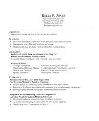 Resume Objectives For Internships Best of Resume Objective For Internship Kappalab