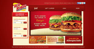 that put their nutrition information and even better than that is a chain that has its own recipe builder enter red robin gourmet burgers