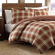 plaid duvet covers. Exellent Covers Eddie Bauer Edgewood Plaid Duvet Cover Set Twin Red To Covers Amazoncom