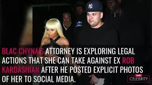 Rob Kardashian s Revenge Porn Prompts Blac Chyna to Take Legal.