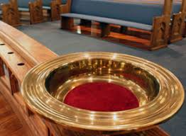 Image result for offertory plate episcopal