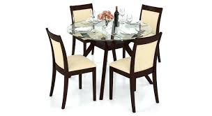 glass kitchen table and chairs 4 round glass top dining table set lb glass dining table set in india