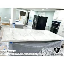 kit full image for metallic coating using on k leggari countertop quartz