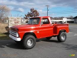 1966 Chevrolet C/K K10 4x4 in Red - 133172 | Truck N' Sale