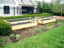 raised garden fence fence raised beds fence raised garden fence in x in cedar raised garden raised garden fence