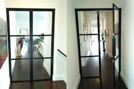 steel and glass internal doors bangalow