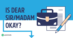 Sir Or Madam Cover Letter Dear Sir Or Madam Is It Still Appropriate To Use Grammarly