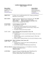 resume s order cover letter template for chronological order resume example order of resume jobs resume order of brefash