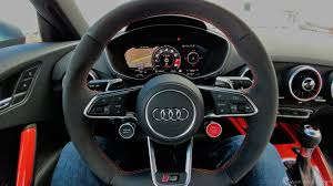2018 audi tt rs interior. Wonderful Audi The Race Carinspired Steering Wheel In The R8 Is One Of My Favorite  Automotive Industry Lucky TT RS Owners Get Same Thing Complete With  Throughout 2018 Audi Tt Rs Interior I