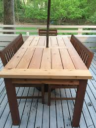 Western Red Cedar Kids Picnic Table From DutchCraftersCedar Wood Outdoor Furniture