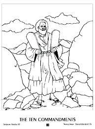 Ten Commandments Coloring Sheet Commandments Coloring Page Elegant