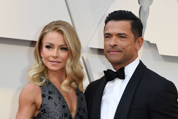 Kelly Ripa with her husband Mark