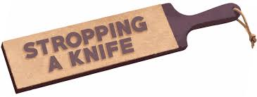 how to strop a knife the complete guide to stropping with tom blodgett