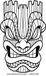 Small Picture Tiki Mask Stock Images Royalty Free Images Vectors Shutterstock