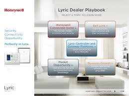 Honeywell Lyric Red Lights Lyric Security And Home Control Platform Interactive Dealer