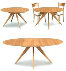 modern round extendable dining table expandable dining table modern solid wood round extendable dining table solid