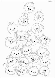 Tsum Tsum Coloring Pages Black And White Beautiful Free Tsum Tsum