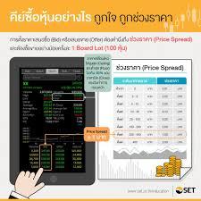 SET Thailand - ***คีย์ซื้อหุ้นอย่างไร ถูกใจ ถูกช่วงราคา***...