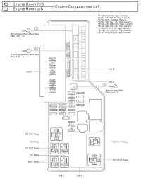2007 Toyota Camry Engine Compartment Fuse Diagram