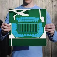 Yulman Stadium Map Art College Stadiums Map Prints Map