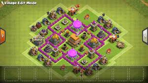 Clash Of Clans Th6 Base Design Himb Max Th6 This Is My First Base I Made On My Own Any
