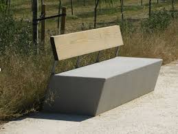 ... Bench Design, Concrete Outdoor Benches How To Make Concrete Bench Seat  Amazing Modern Cool Concrete ...