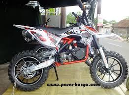pasaran harga motor mini trail roda dua dan spesifikasi lengkap