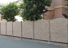 25 best concrete fencing design ideas