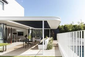 outdoor back yard trees and metal fences wall photo 6 of 11 on dwell metal wall art with photo 6 of 11 in a heritage art deco house in australia gets a