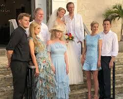 Barron Hilton Marries Tessa Gräfin von Walderdorff: Dress Details