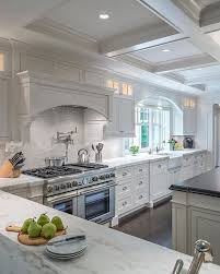 From the rich hardwood floors to the spectacular coffered ceiling and every  element in between -  Kitchen CeilingsCoffered CeilingsTray ...